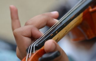 The Violin: Where To Place Your Fingers