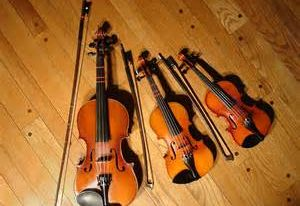 different-size-violins